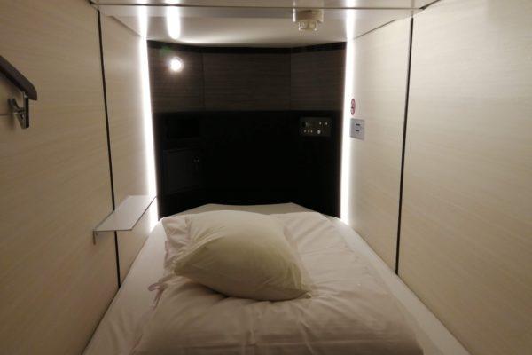 松江アーバンホテルカプセルルーム 人生初カプセルホテルで、快適ホテル生活一週間